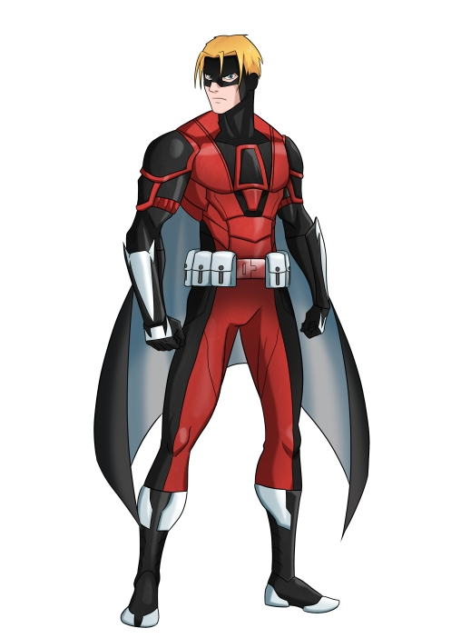 Red Raptor - Costume Design